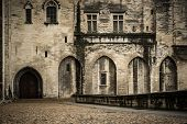 stock photo of avignon  - Palais des Papes in Avignon - JPG