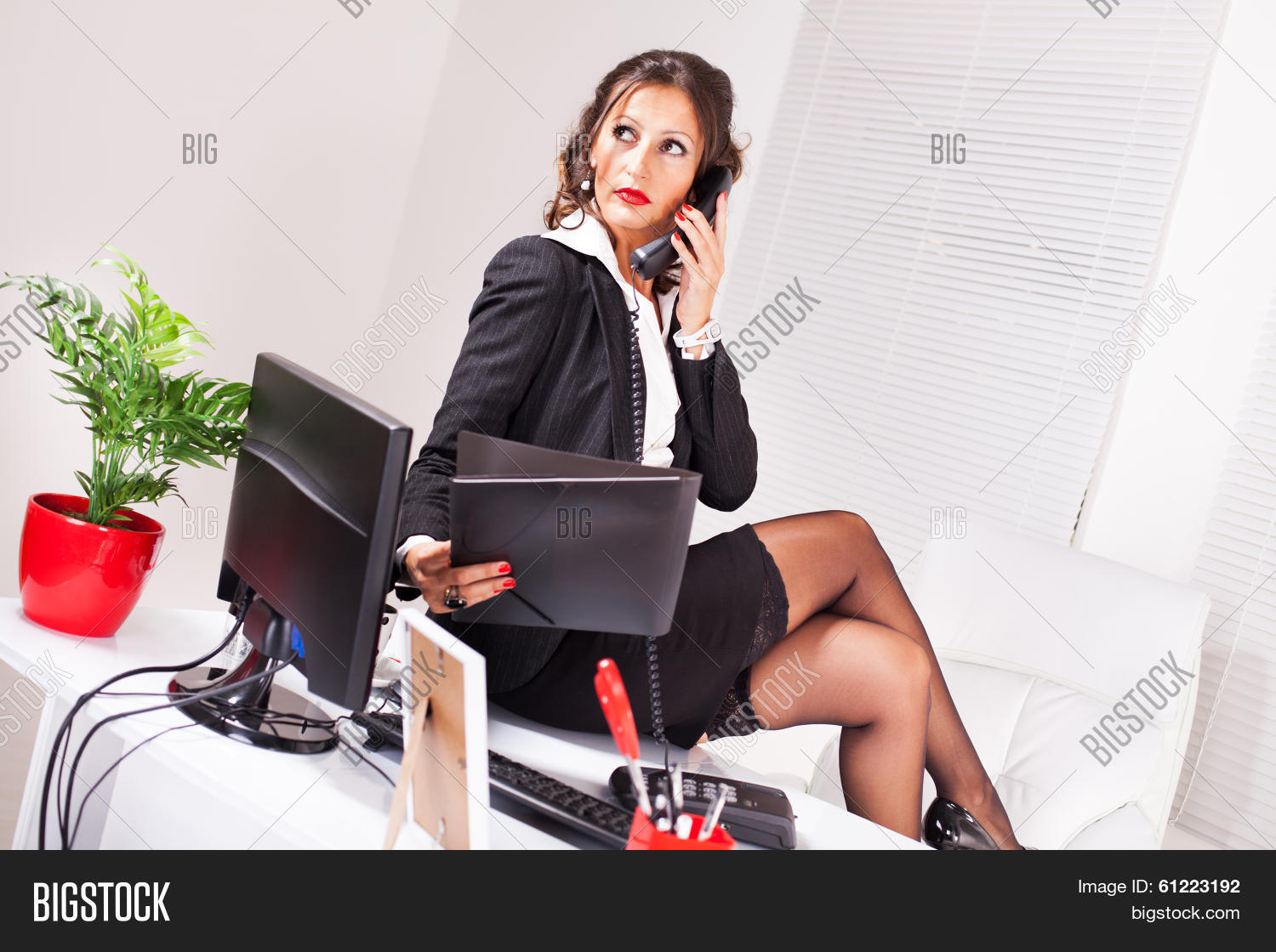 Sexy Secretary Image Amp Photo Bigstock