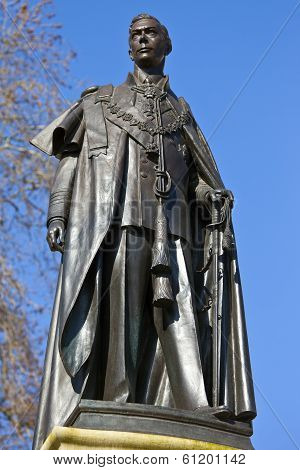 Statue Of King George VI In London