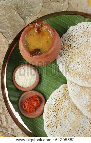 Set Dosa - A pancake from South India