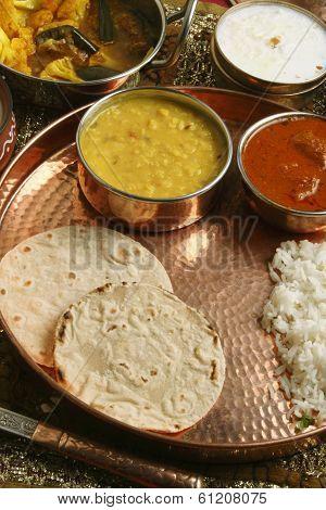 Bhakri - a flatbread made of Jowar from Gujarat.