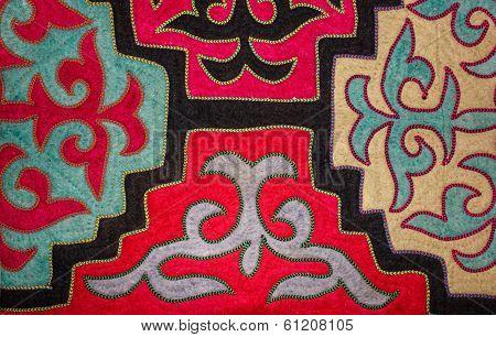 Kazakh Felt Carpet 1