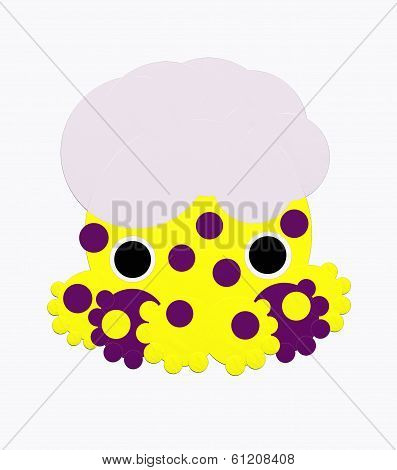 Octopus with dots