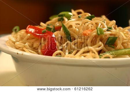Chow Mein Is A Generic Chinese Term For A Dish Of Stir-fried Noodles.