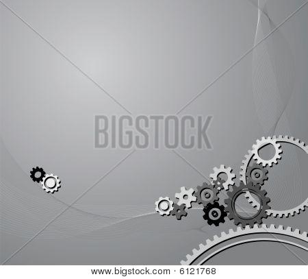 Cogwheels Background