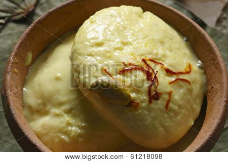 Ras Malai - A sweet dish from Bengal