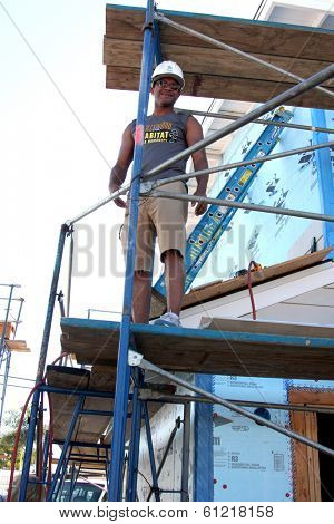 LOS ANGELES - MAR 8:  GH Cast Member at the 5th Annual General Hospital Habitat for Humanity Fan Build Day at Private Location on March 8, 2014 in Lynwood, CA