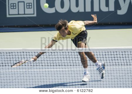 Ratiwatana at the Los Angeles Open Tennis Tournament