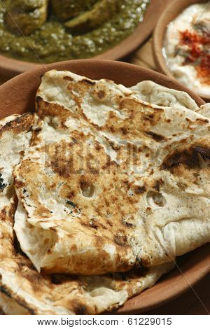 Tandoori Roti is Indian unleavened bread