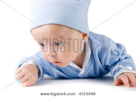 Lying Baby Boy