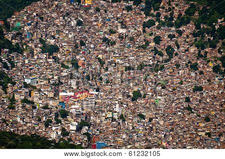 Biggest Slum in South America, Favela da Rocinha