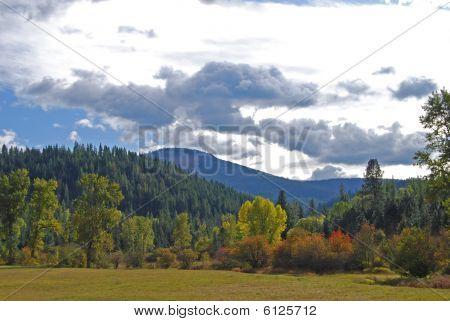 Outono de montanha