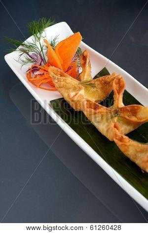 Asian Style Crab Rangoons