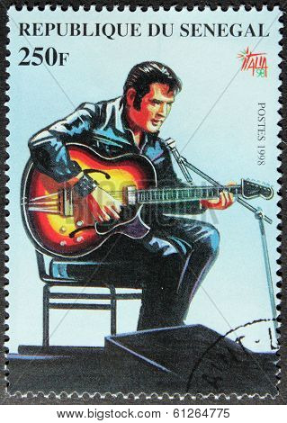 Presley - Senegal Stamp