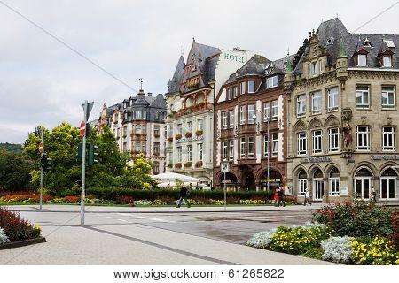 A Scenic Cityscape In Trier