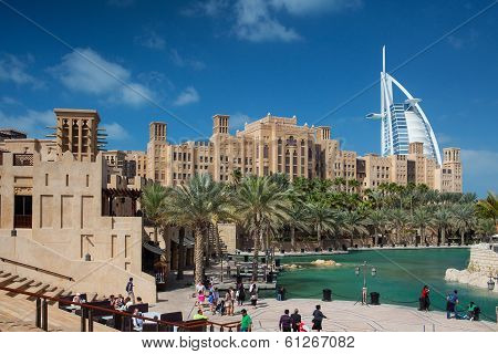 View Of The Souk Madinat Jumeirah.
