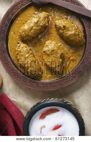 Machh mutton kofta from Kashmir