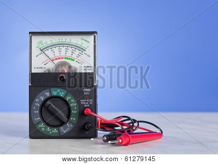 Multimeter With Probe