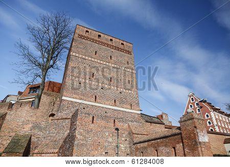 Old Town In Torun, Poland