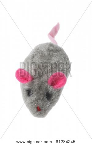 toy mouse on white