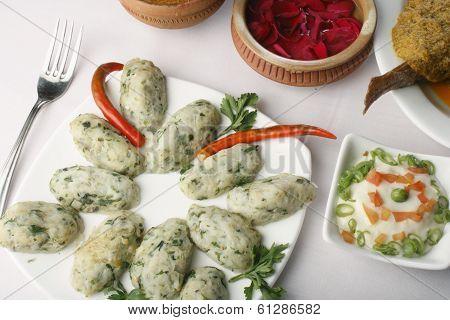 Chital macher muitha - A bengali fish preparation