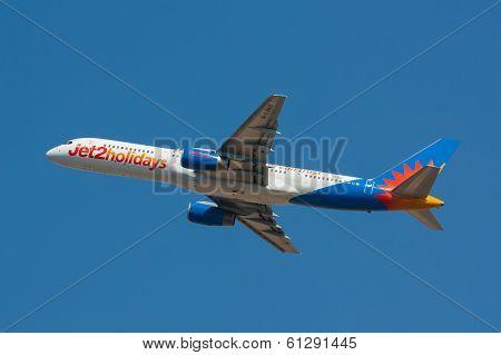 B757 Jet2 Holiadys