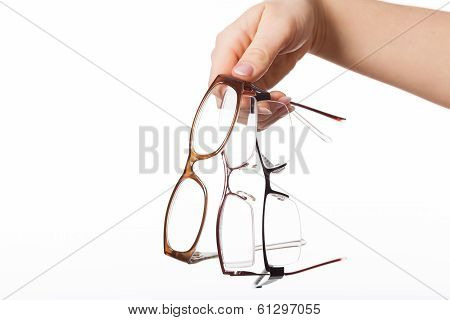 Optician With Glasses