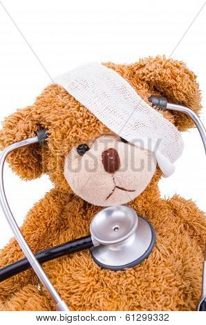 Teddy Bear with Bandage / doctor