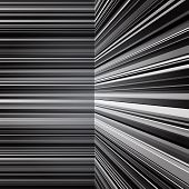 Abstract warped grey stripes background
