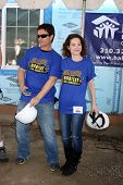 LOS ANGELES - MAR 8:  Rick Hearst, Rebecca Herbst at the 5th Annual General Hospital Habitat for Hum