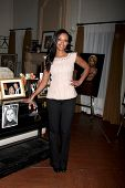 LOS ANGELES - MAR 4:  Mishael Morgan at the Melody Thomas Scott Celebrates 35 Years at the