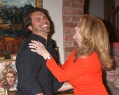 LOS ANGELES - MAR 4:  Joshua Morrow, Melody Thomas Scott at the Melody Thomas Scott Celebrates 35 Ye