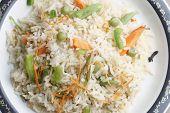 stock photo of biryani  - Vegetable Biryani  - JPG