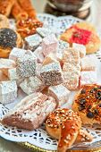 stock photo of baklava  - Turkish delight dessert  - JPG