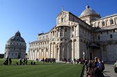 Miracles Square In Pisa