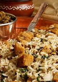 foto of rajasthani  - Gatte Ka Pulao is Gram flour dumpling and rice preparation from Rajasthan - JPG