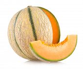 image of melon  - cantaloupe melon - JPG