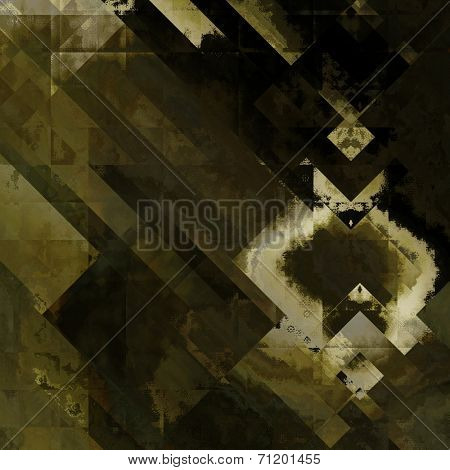 art abstract grunge dust textured monochrome background in black, grey, olive, green and white colors