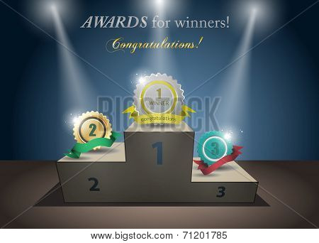 awards for winners