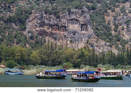 Boat Tours In Dalyan River