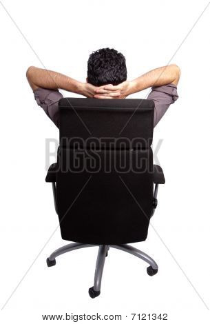 Sitting Man's Back