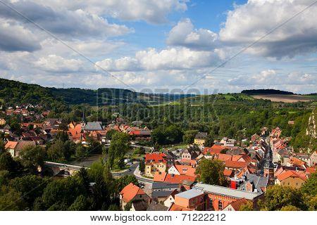Camburg in Thuringia