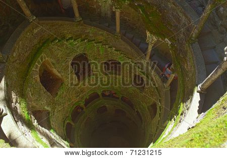 The Initiation well of Quinta da Regaleira in Sintra.
