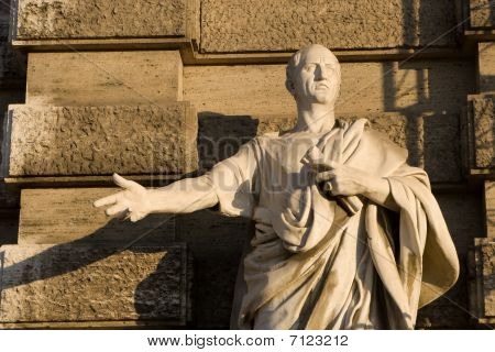 Cicero - Rome - statue for Justice palace