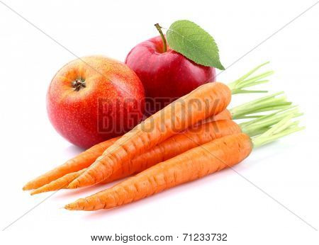 Carrot with apple