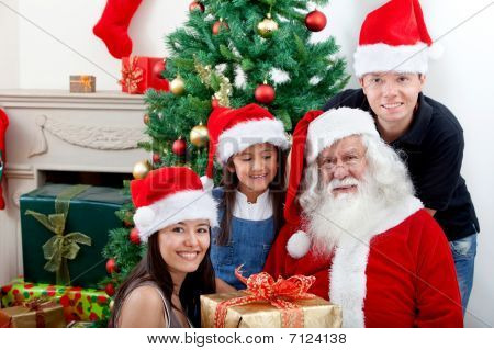 People With Santa