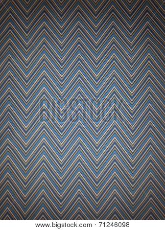 Chevron Blue Lines