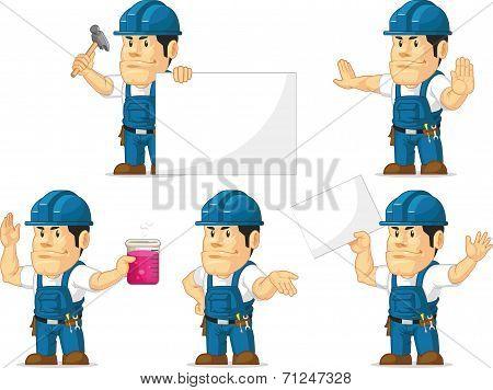 Strong Technician Mascot