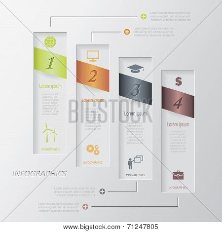 Modern Vector Infographic Template Design (can Be Used For Your Web Design, Graphic Or Website Layou