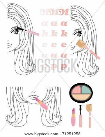 Make-up Girl Set